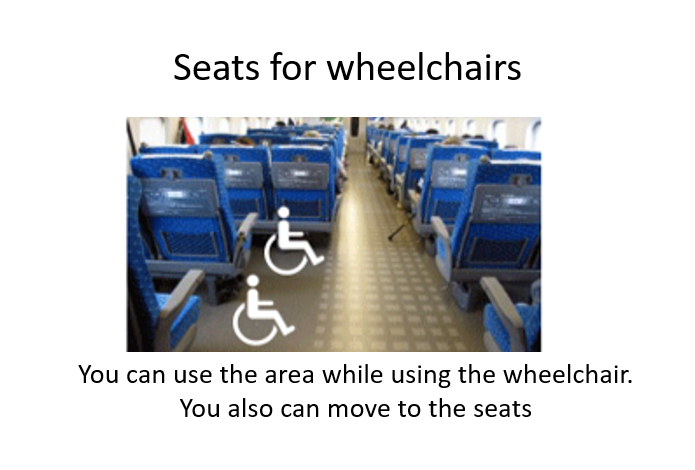 seats for wheelchairs